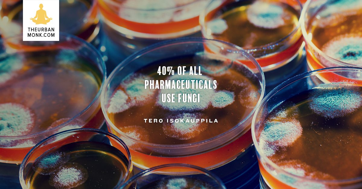 40% of All Pharmaceuticals Use Fungi - @FourSigmatic via @PedramShojai