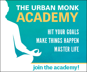 the urban monk Academy ads