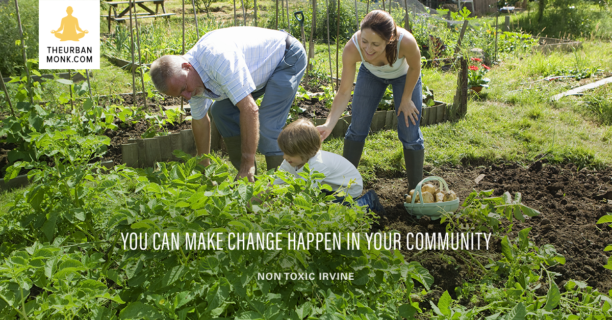 You Can Make Change Happen In Your Community - @NontoxicI via @PedramShojai