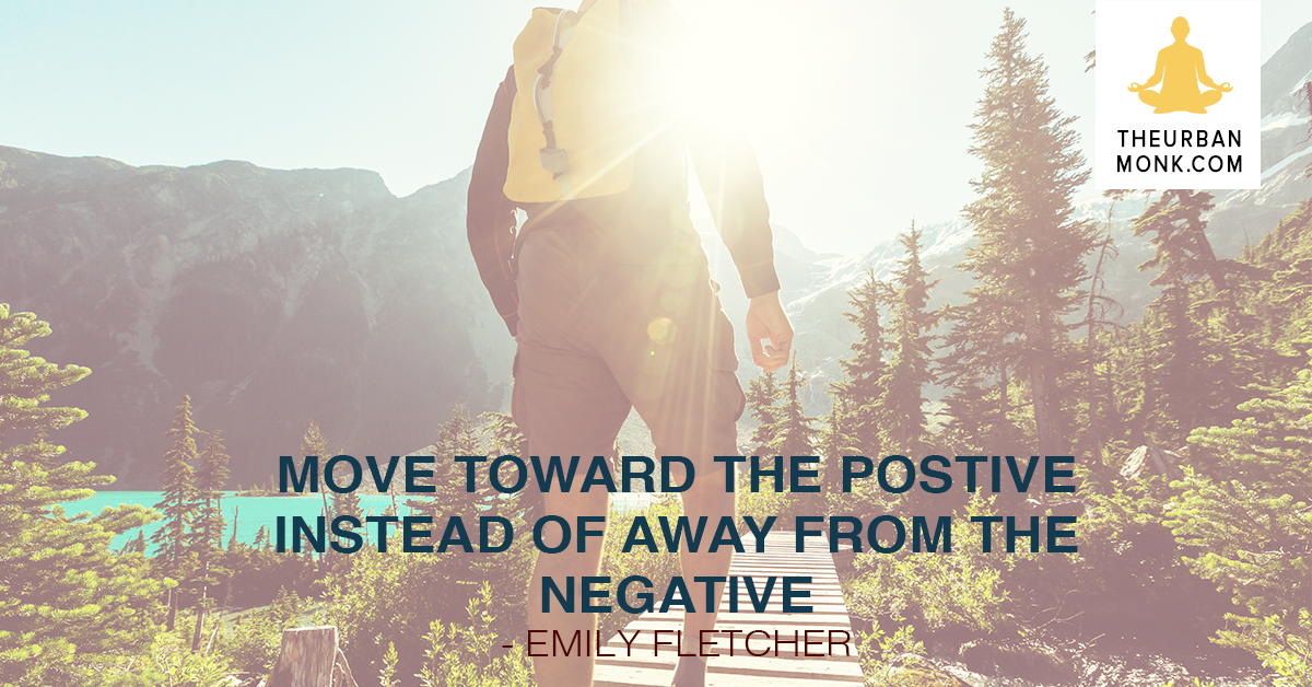 Move Toward The Positive Instead Of Away From The Negative - @ZivaMeditation via @PedramShojai