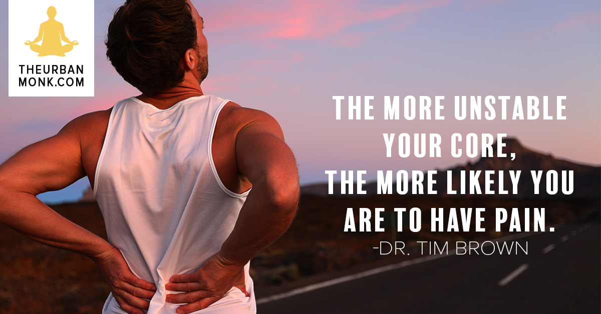 The More Unstable Your Core, The More Likely You Are To Have Pain - @IntelliSkin via @PedramShojai