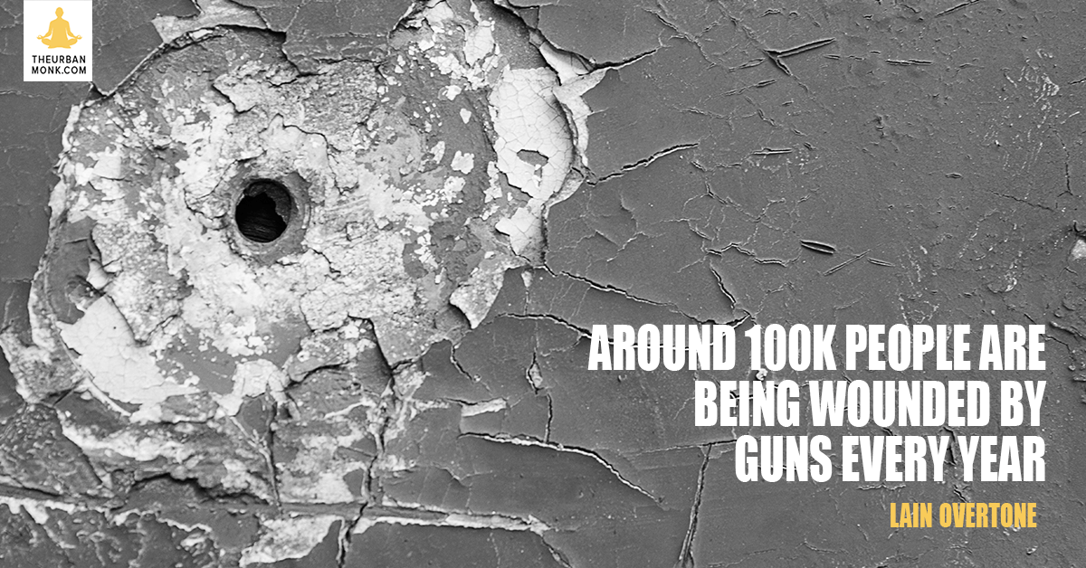Around 100K People Are Wounded By Guns Every Year - @iainoverton via @PedramShojai