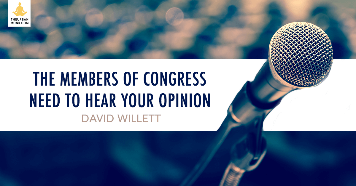 The Members Of Congress Need To Hear Your Opinion - @davidwillett via @PedramShojai