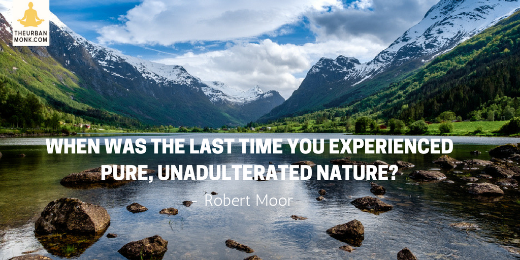 When Was The Last Time You Experienced Pure, Unadulterated Nature? - @robmoorstuff via @PedramShojai